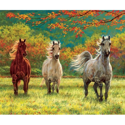 Puzzle Sunsout-44839 XXL Pieces - Autumn Meadow