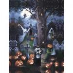 Puzzle  Sunsout-45402 XXL Pieces - Halloween Night