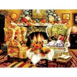 Puzzle  Sunsout-45419 XXL Pieces - Autumn Warmth