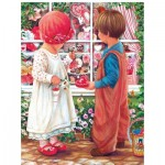 Puzzle  Sunsout-45445 XXL Pieces - Valentine Treasures