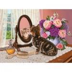 Puzzle  Sunsout-45821 Higgins Bond - Mirror Image