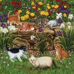 Puzzle  Sunsout-45851 Higgins Bond - Wall Flowers