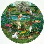 Puzzle  Sunsout-45876 XXL Pieces - Cats at Play