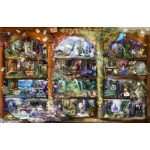 Puzzle  Sunsout-48448 Alixandra Mullins - Enchanted Fairytale Library