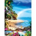 Puzzle  Sunsout-48471 Alixandra Mullins - Beach Butterflies