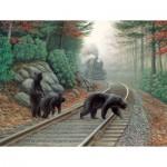 Puzzle  Sunsout-48804 XXL Pieces - Bear Tracks