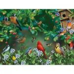 Puzzle  Sunsout-49046 XXL Pieces - Bird Festival