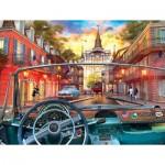 Puzzle  Sunsout-50070 XXL Pieces - Window on New Orleans