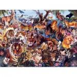 Puzzle  Sunsout-50078 XXL Pieces - Animal Fantasia