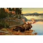 Puzzle  Sunsout-50117 Lambson's Wildlife Art - Squatters Rights