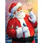 Puzzle  Sunsout-50734 XXL Pieces - Santa's Morning Meeting