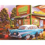 Puzzle  Sunsout-51327 XXL Pieces - Geno Peoples - Aunt Sheila's Cafe