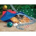 Puzzle  Sunsout-51507 XXL Pieces - Nap Sack Cat