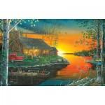 Puzzle  Sunsout-51826 Picturesque - Autumn Glow