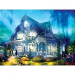 Puzzle  Sunsout-52060 Joel Christopher Payne - Halloween Lane House