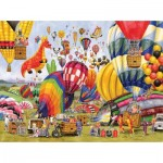 Puzzle  Sunsout-52448 XXL Pieces - Balloon Landing