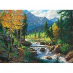 Puzzle  Sunsout-52887 XXL Pieces - Mark Keathley - Mountain Medley