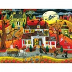 Puzzle  Sunsout-54771 XXL Pieces - Halloween Fright Night