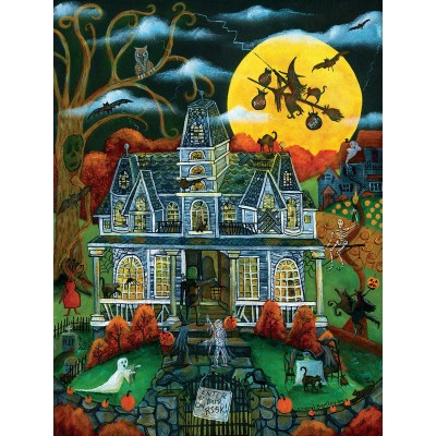 Puzzle Sunsout-54782 XXL Pieces - Halloween Potions and Tricks
