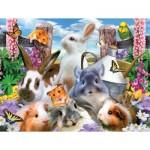 Puzzle  Sunsout-54928 XXL Pieces - Howard Robinson - Backyard Friends