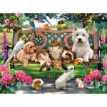 Puzzle  Sunsout-54942 XXL Pieces - Pets in the Park