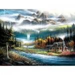 Puzzle  Sunsout-55125 XXL Pieces - Valley Paradise