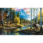 Puzzle  Sunsout-55136 Chuck Black - Livin' the Dream
