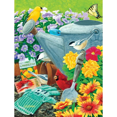 Puzzle Sunsout-55693 XXL Pieces - Welcome to the Garden Party