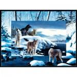 Puzzle  Sunsout-55763 Kevin Daniel - Ice Wolves