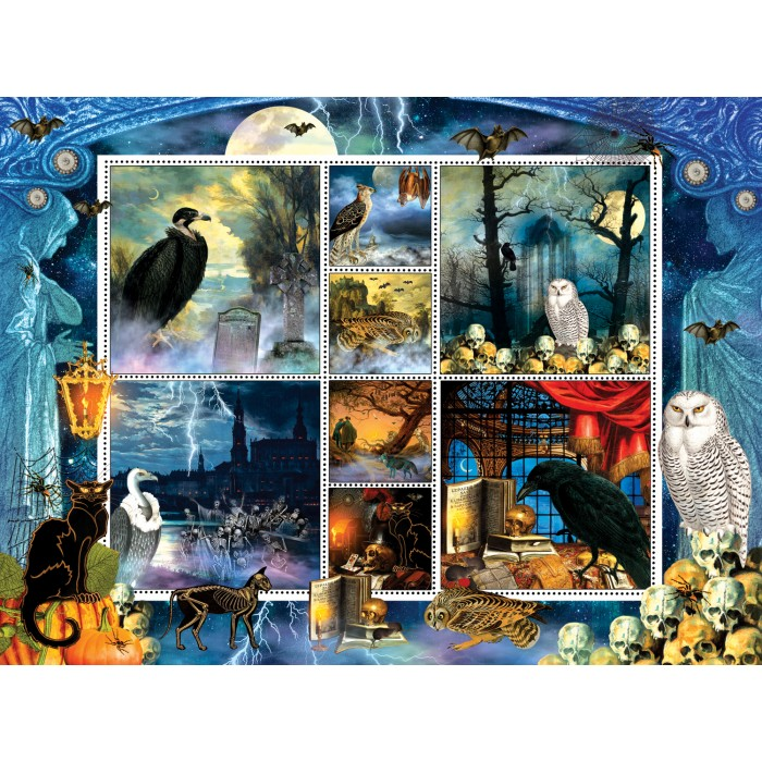 Finchley Paper Arts - Halloween Stamps Spooky