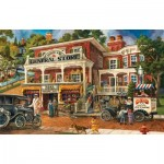 Puzzle  Sunsout-56073 Tom Antonishak - Fannie Mae's General Store