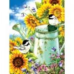 Puzzle  Sunsout-57124 Dona Gelsinger - Sunflower Garden