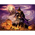 Puzzle  Sunsout-57139 XXL Pieces - All Hallows Eve