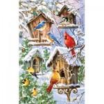 Puzzle  Sunsout-57236 Dona Gelsinger - Snow Birds