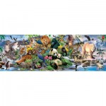 Puzzle  Sunsout-59394 XXL Pieces - Around the World