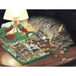 Puzzle  Sunsout-59621 XXL Pieces - Piece-ful Slumber