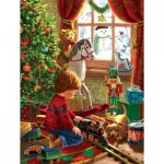 Puzzle  Sunsout-59801 XXL Pieces - Boyhood Christmas