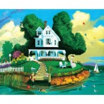 Puzzle  Sunsout-60541 XXL Pieces - Watching for Rain