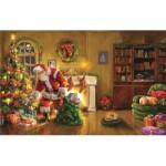 Puzzle  Sunsout-60607 Marcello Corti - Santa's Special Delivery