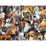 Puzzle  Sunsout-60930 XXL Pieces - Dog World