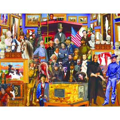 Puzzle Sunsout-61504 XXL Pieces - Neal Taylor - 19th Century History