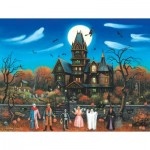 Puzzle  Sunsout-62171 XXL Pieces - Trick or Treaters Beware