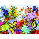 Puzzle  Sunsout-62908 XXL Pieces - Butterfly Oasis
