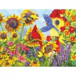 Puzzle  Sunsout-62925 XXL Pieces - Backyard Beauties
