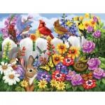 Puzzle  Sunsout-62952 XXL Pieces - Garden Gossip