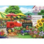 Puzzle  Sunsout-63016 XXL Pieces - Nancy Wernersbach - Farm Stand Bounty