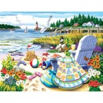 Puzzle  Sunsout-63061 XXL Pieces - Essence of Summer