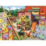 Puzzle  Sunsout-63066 Nancy Wernersbach - Quilts
