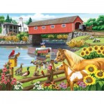 Puzzle  Sunsout-63068 Nancy Wernersbach - Critics' Choice