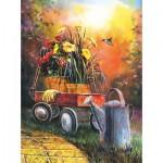 Puzzle  Sunsout-67351 Jim Hansel - Summer Blooms